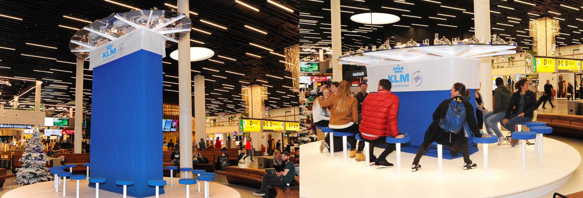 KLM Christmas buffet