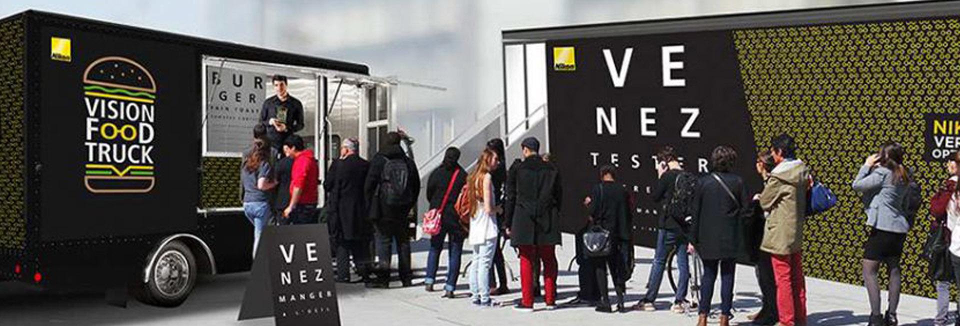 Nikon Burger Truck