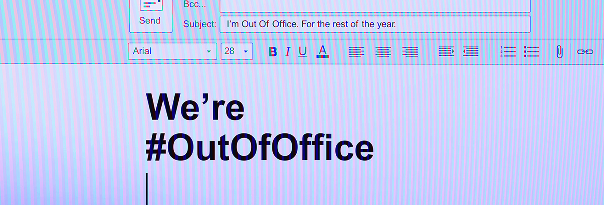 #OutOfOffice